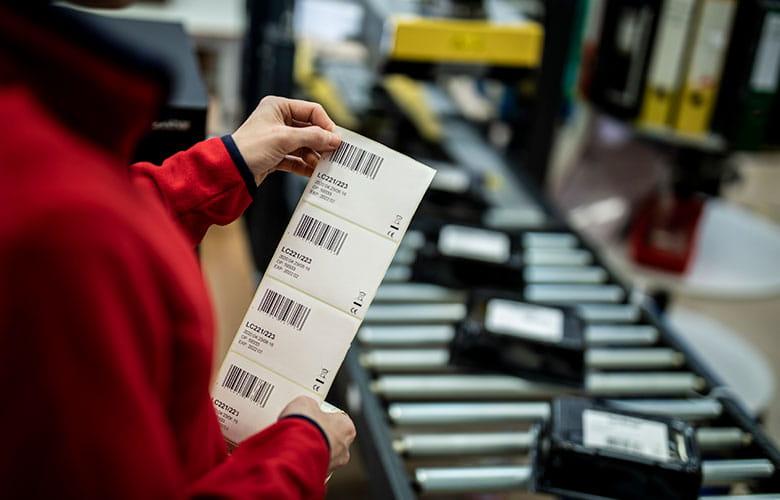 Imprimante d'étiquettes industrielles fabrication