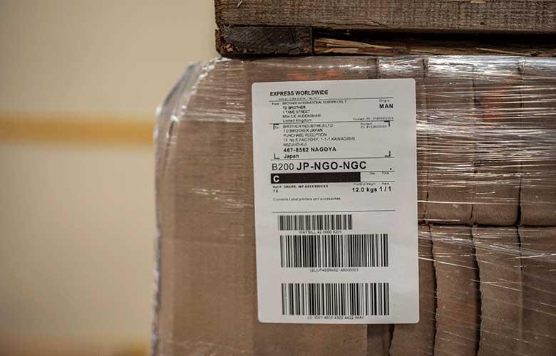 Imprimante d'étiquettes industrielles transport et logistique