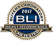 BLI Buyers Lab Highly Recommended 2017