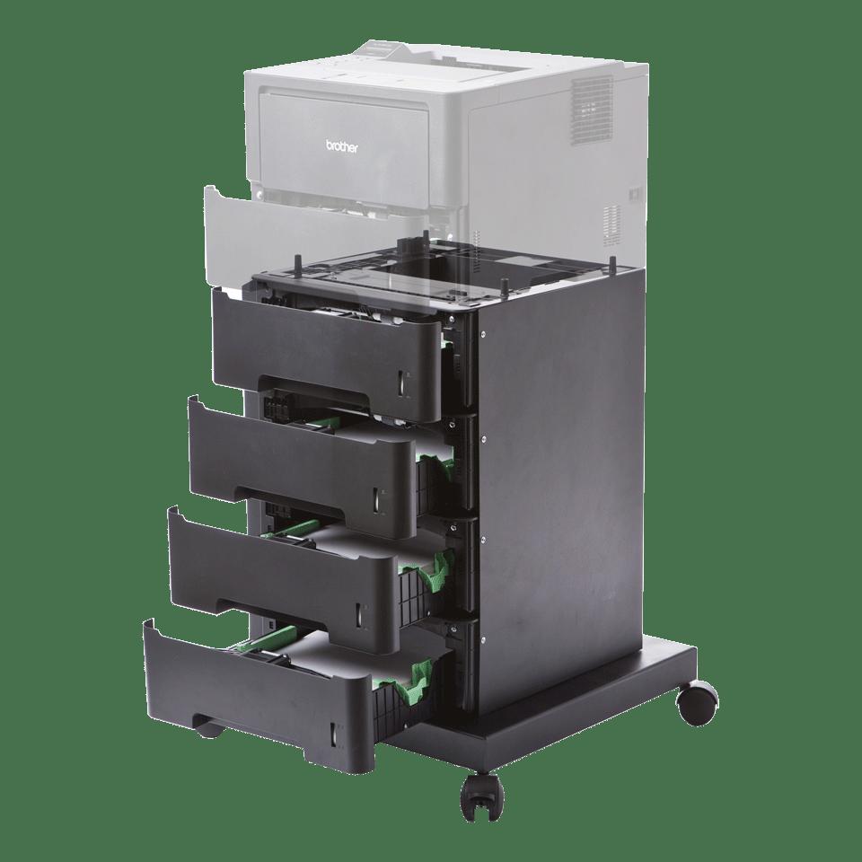 ZLT4 unité de papier avec 4 tiroirs et pied mobile