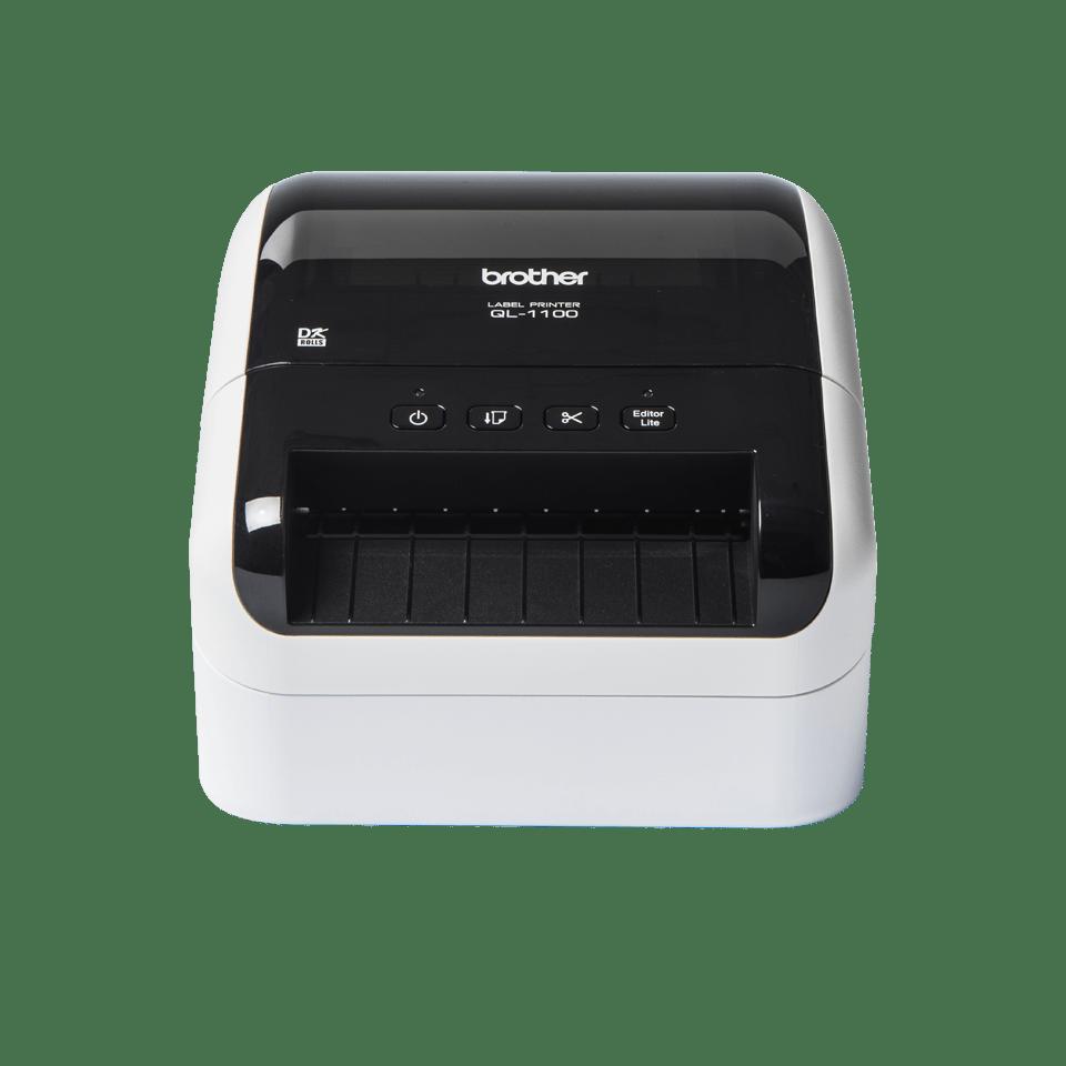 QL-1100 imprimante pour grandes étiquettes d'expédition avec code-barres 2