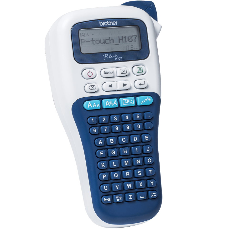 P-touch PT-H107B imprimante d'étiquettes portable pour la maison et le bureau 3