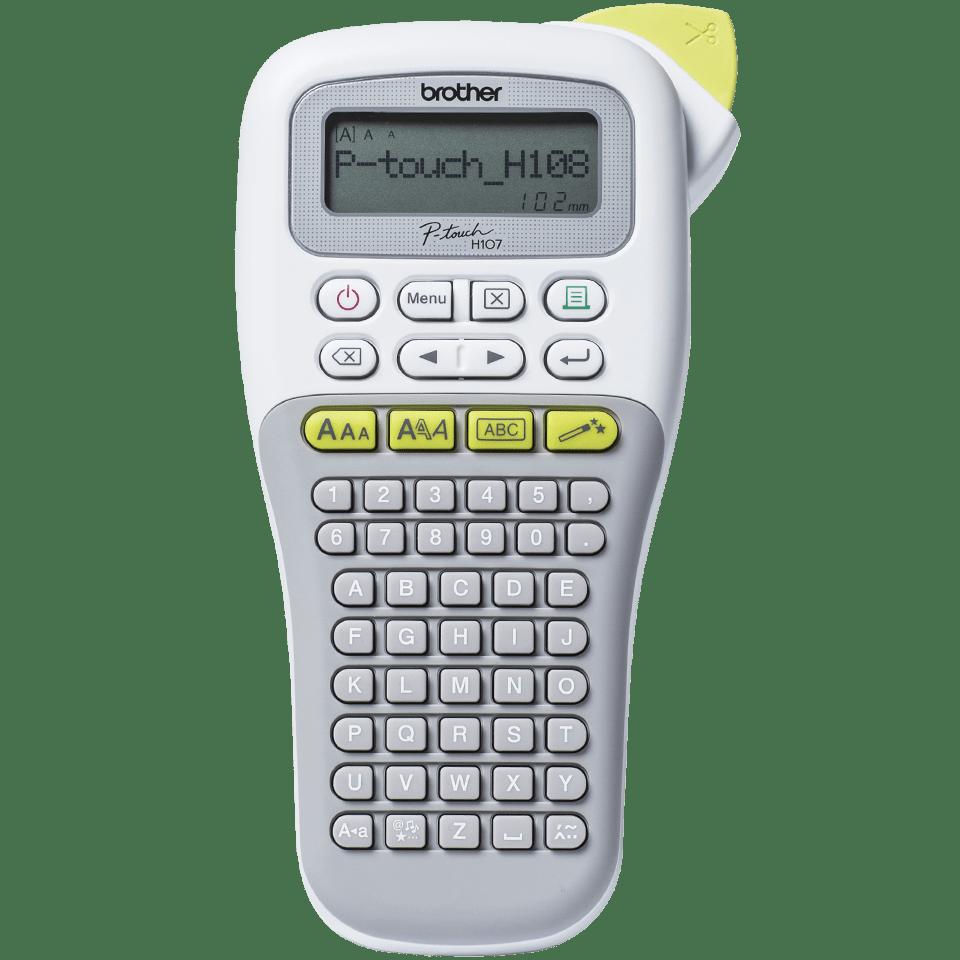 P-touch PT-H108G imprimante d'étiquettes portable pour la maison et le bureau 7
