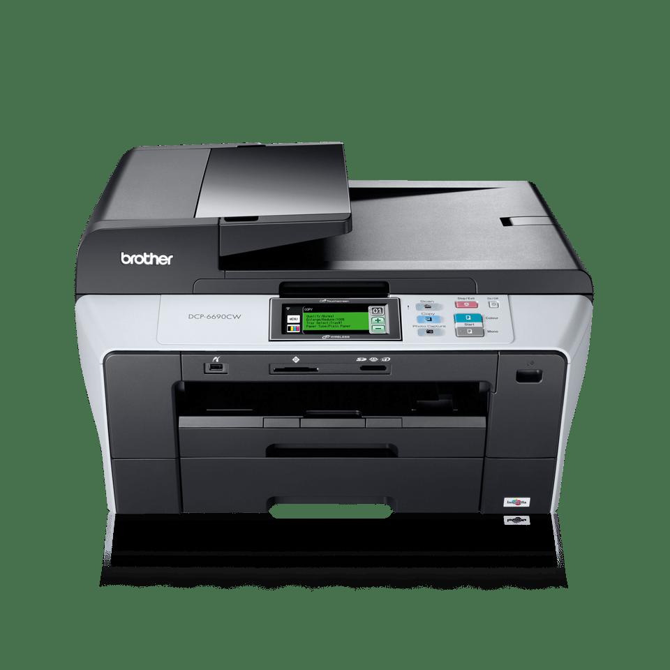 DCP-6690CW imprimante 3-in-1 jet d'encre