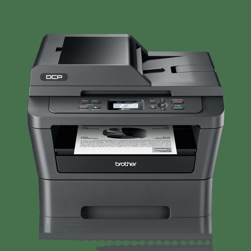 DCP-7065DN imprimante 3-en-1 laser monochrome 2