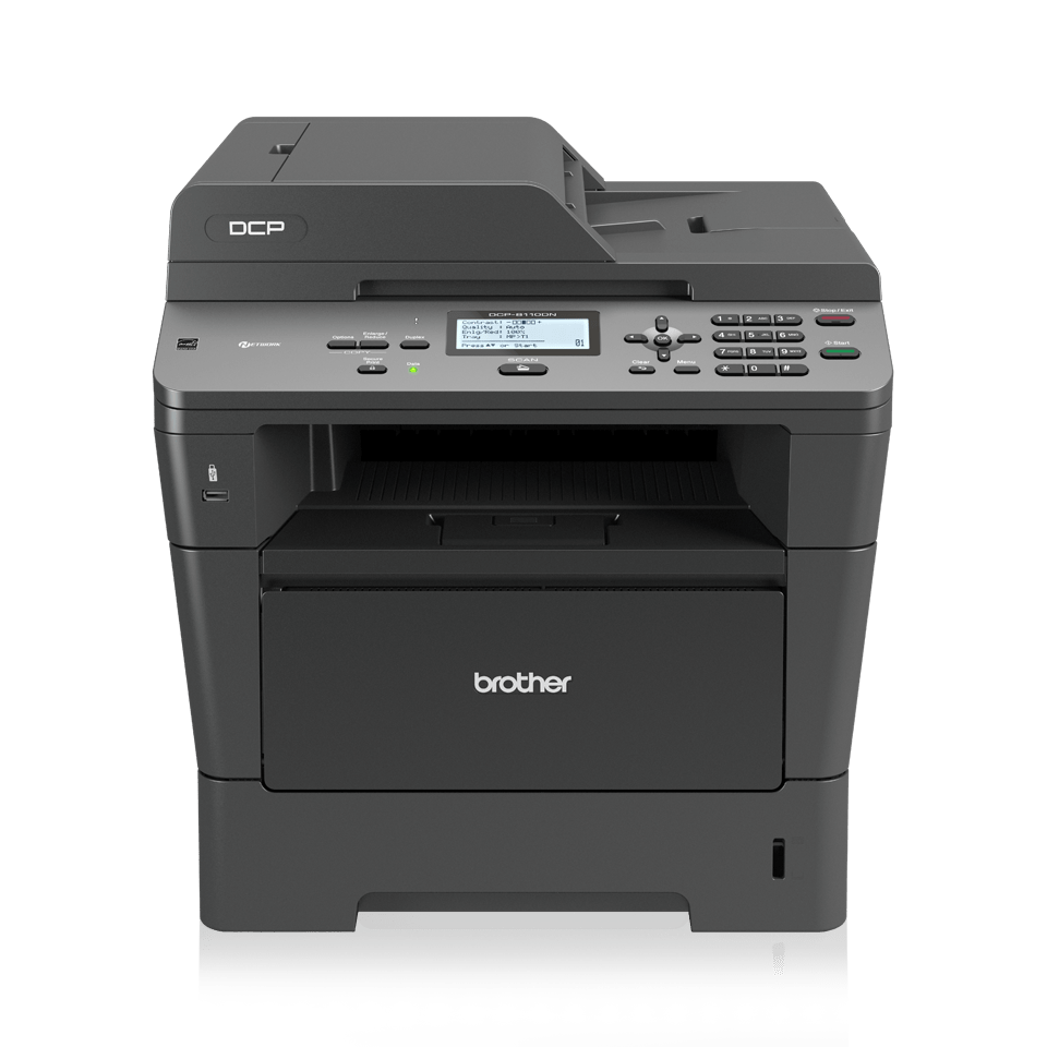 DCP-8110DN imprimante 3-en-1 laser monochrome