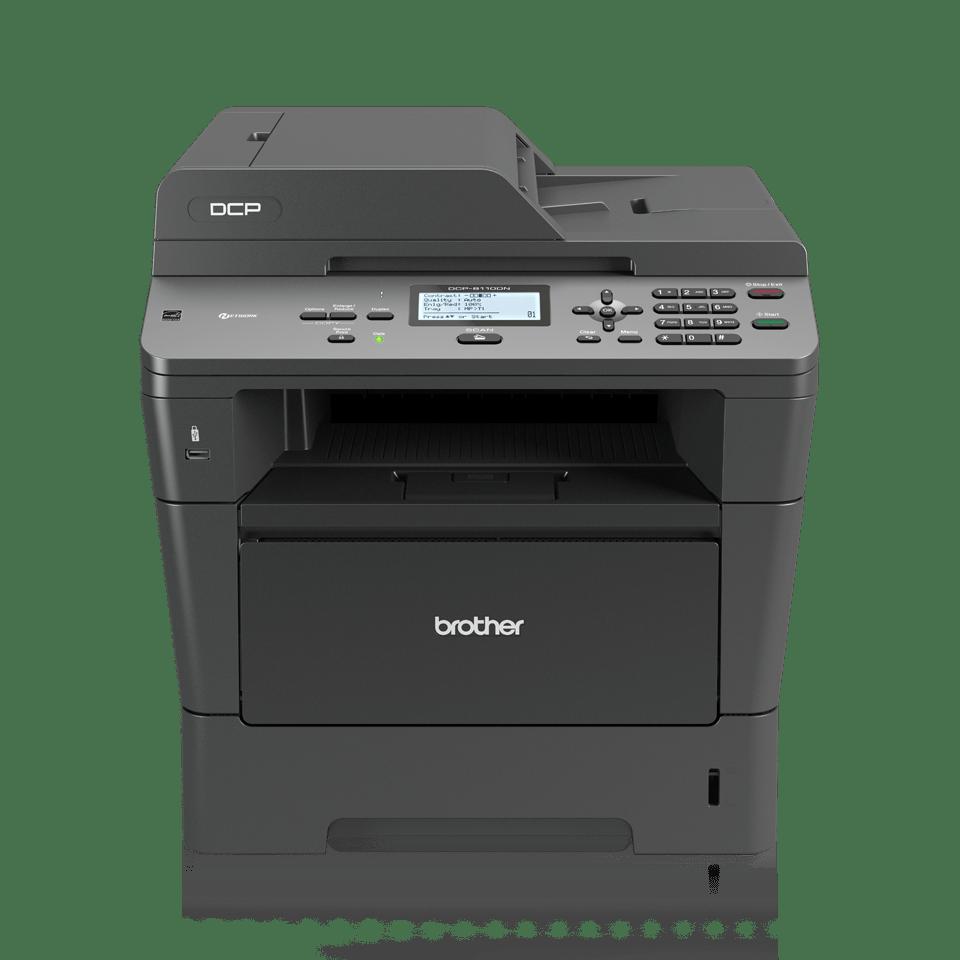 DCP-8110DN imprimante 3-en-1 laser monochrome 2