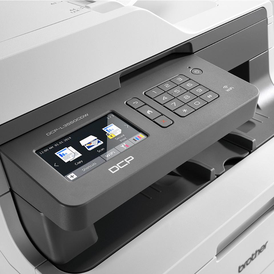 DCP-L3550CDW Imprimante LED couleur 3-en-1, Wifi, Ethernet 4