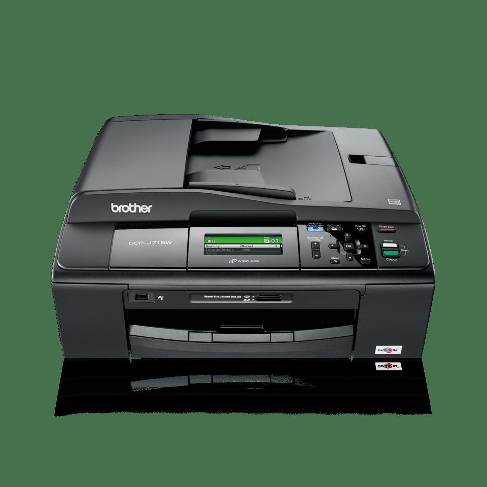 DCP-J715W imprimante 3-in-1 jet d'encre