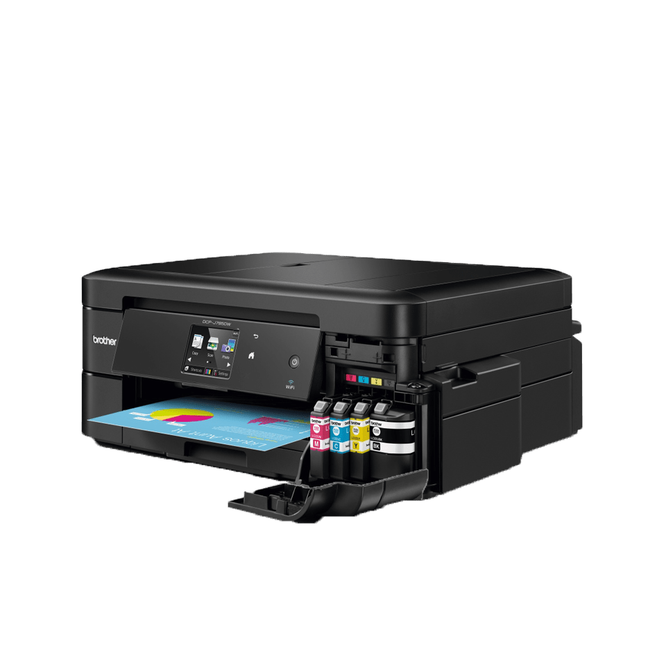 DCP-J785DW Inkbenefit imprimante jet d'encre couleur 3-en-1, Wifi 4