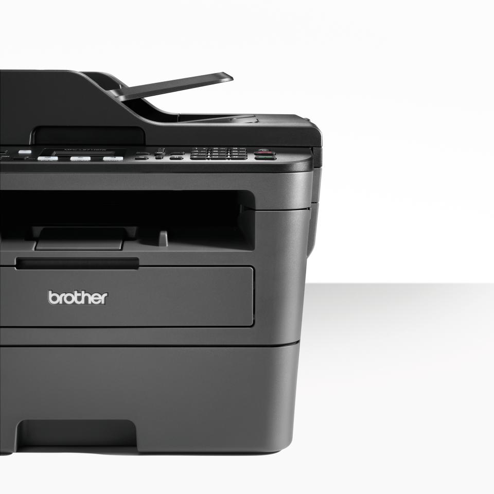 MFC-L2710DW imprimante 4-en-1 laser monochrome compacte et wifi 4