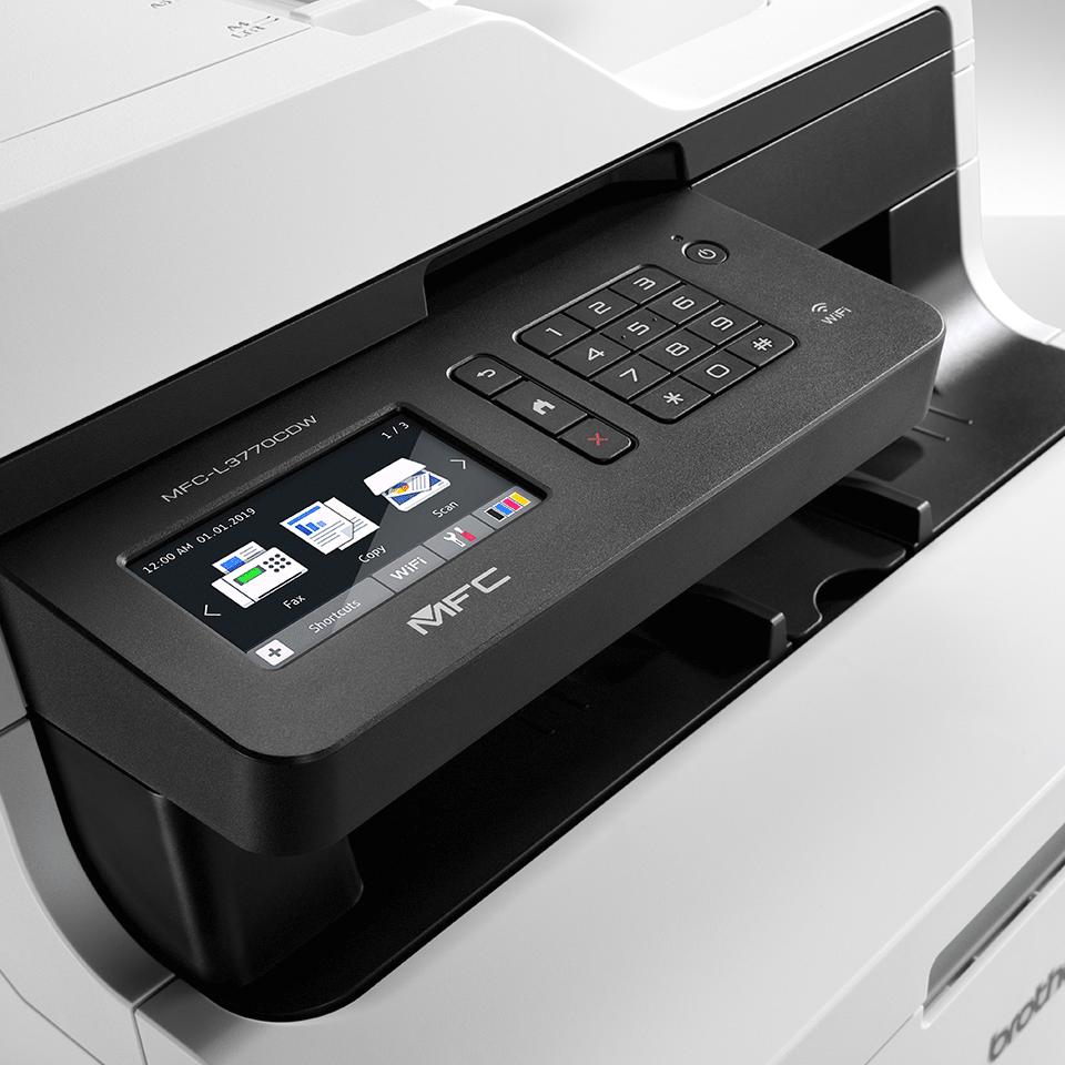 MFC-L3770CDW Imprimante LED couleur 4-en-1, Wifi, Ethernet, NFC 4
