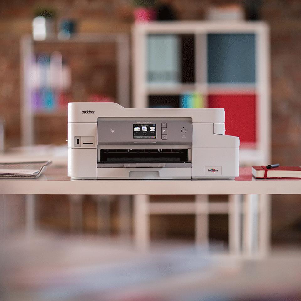 MFC-J1300DW All in Box imprimante jet d'encre couleur 4-en-1, Wifi, Ethernet, NFC 5