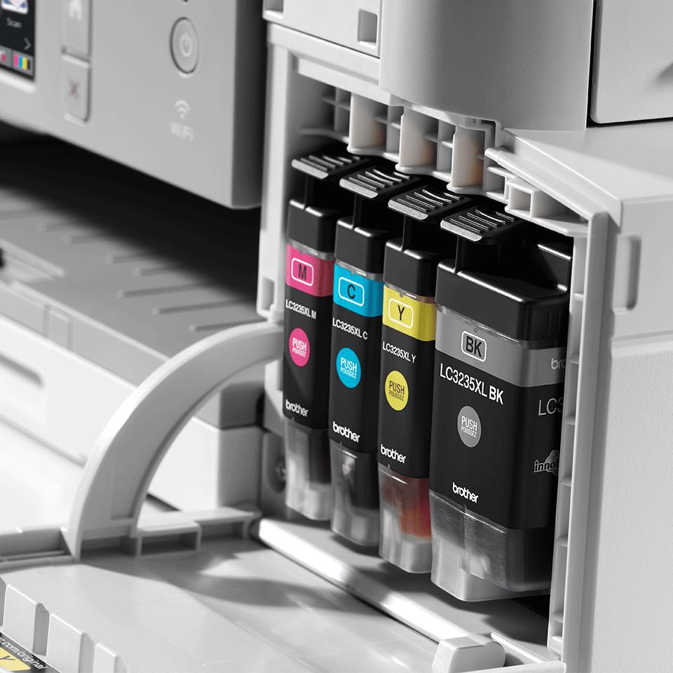 MFC-J1300DW All in Box imprimante jet d'encre couleur 4-en-1, Wifi, Ethernet, NFC 6
