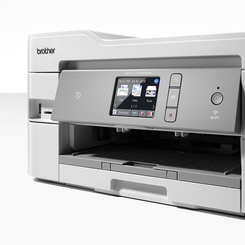 MFC-J1300DW All in Box imprimante jet d'encre couleur 4-en-1, Wifi, Ethernet, NFC 7