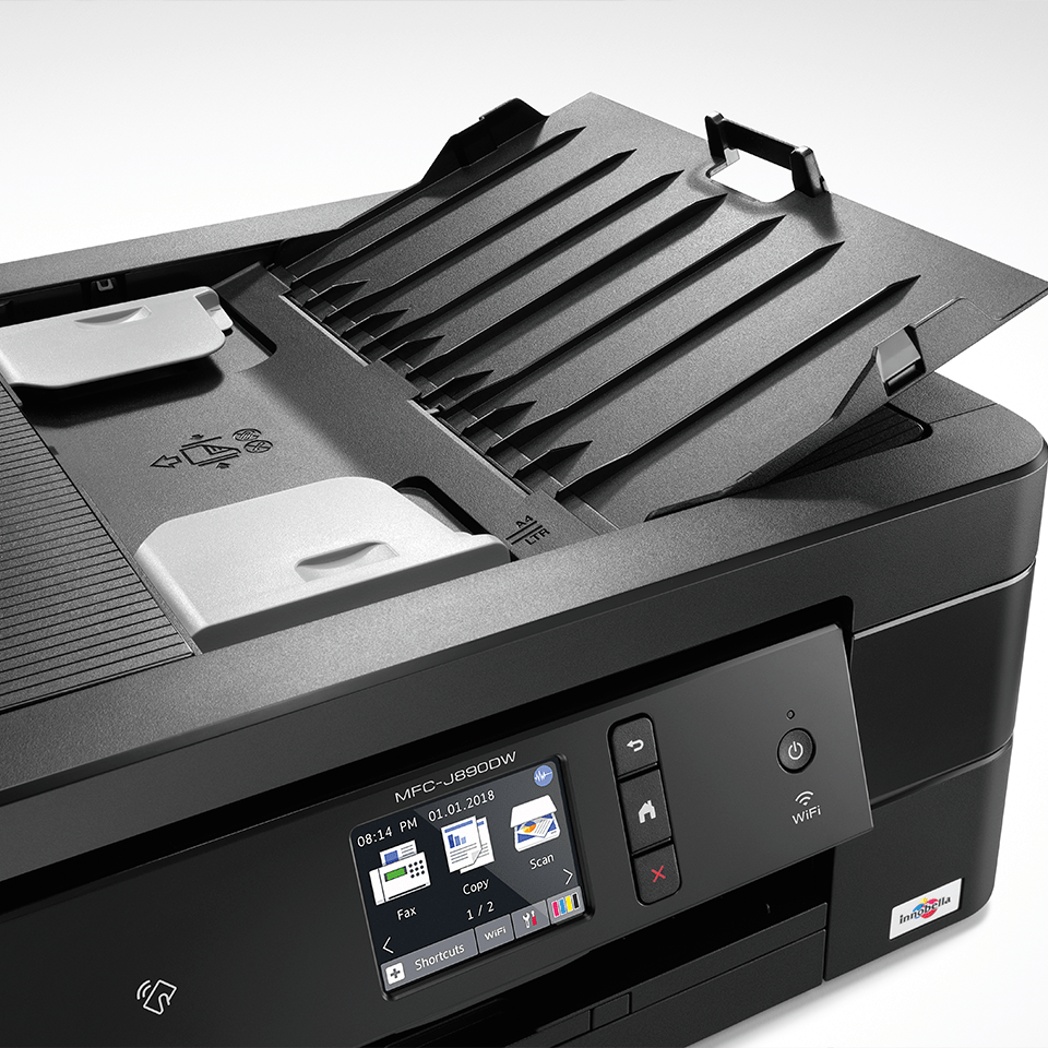 MFC-J890DW imprimante jet d'encre A4 4-en-1 compacte et wifi 4