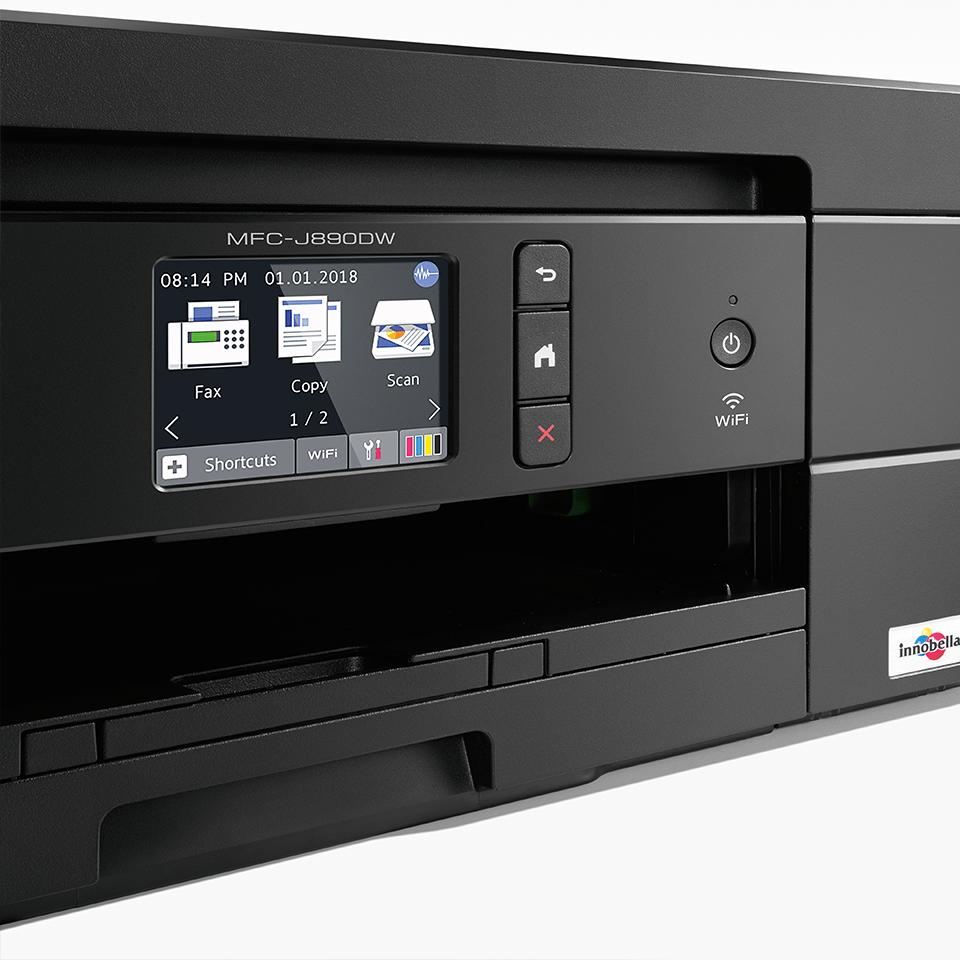 MFC-J890DW Imprimante jet d'encre couleur 4-en-1, Wifi, Ethernet, NFC 5