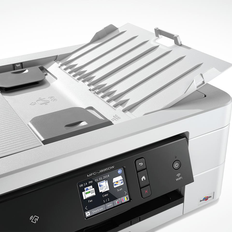 MFC-J895DW Imprimante jet d'encre couleur 4-en-1, Wifi, Ethernet, NFC 4