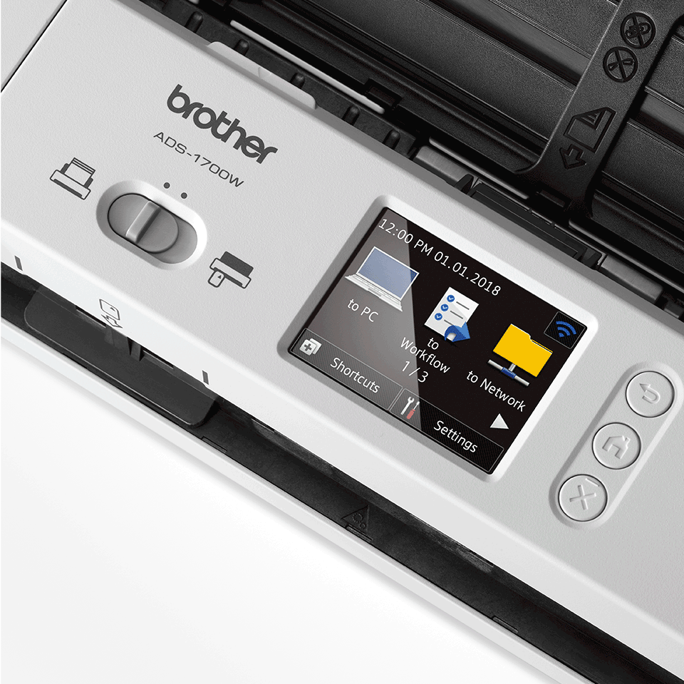 ADS-1700W Scanner de documents intelligent et compact 8