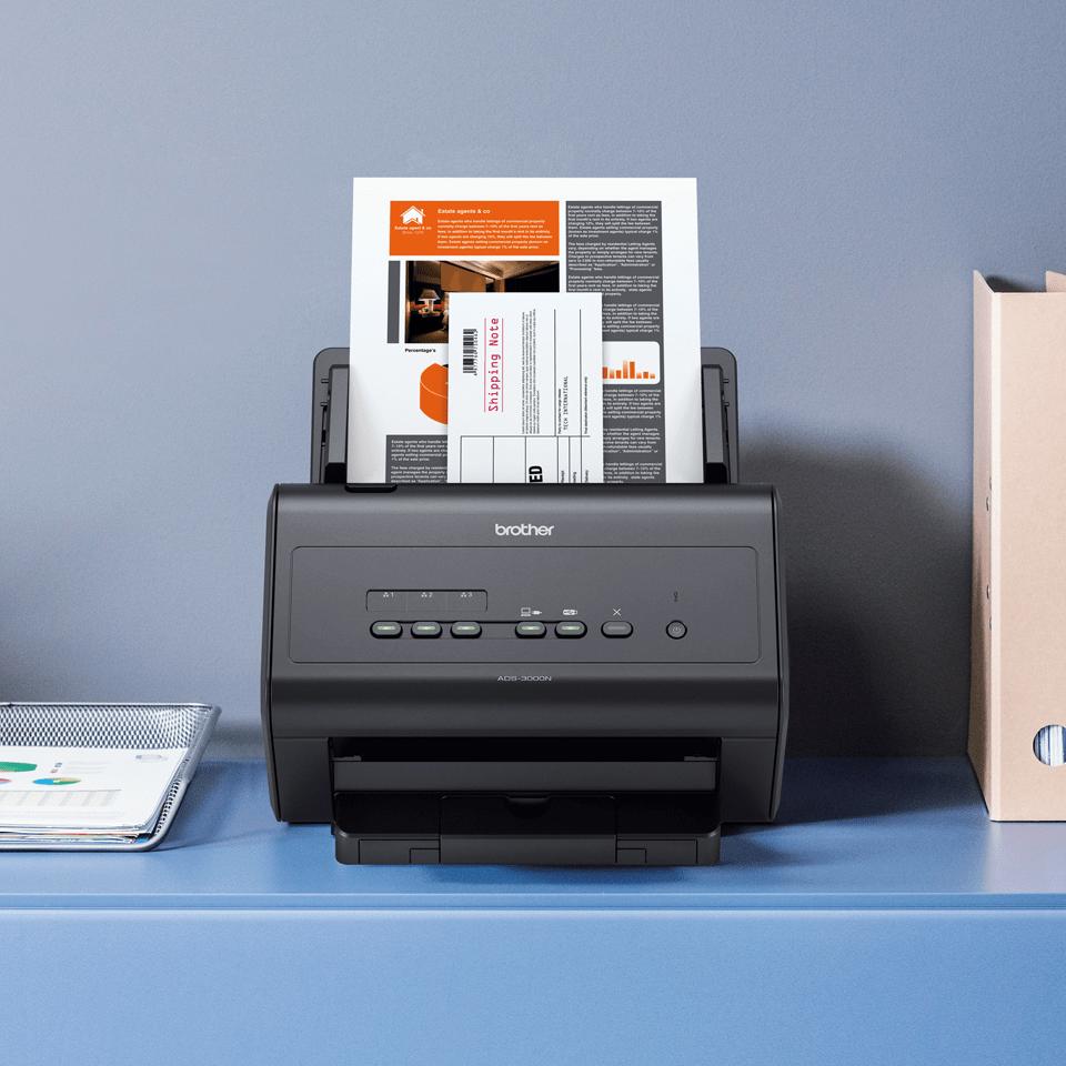ADS-3000N scanner de bureau 6