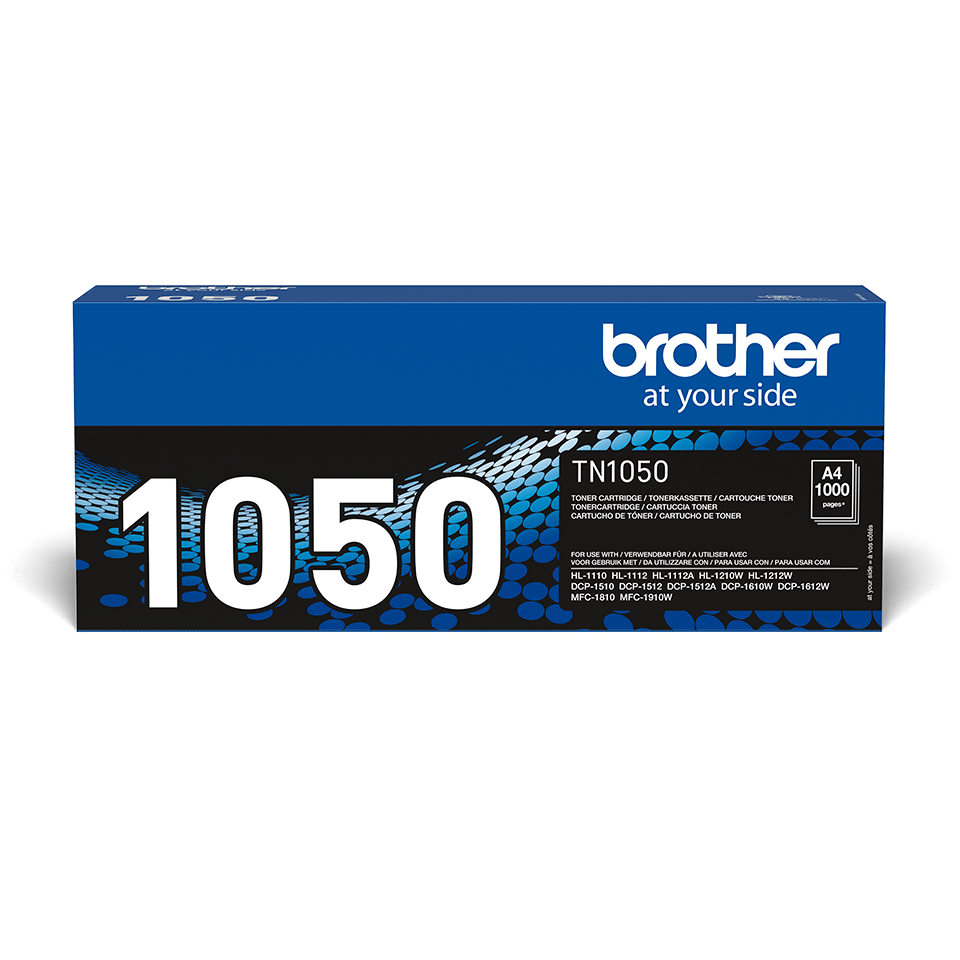 TN-1050 toner noir d'origine Brother