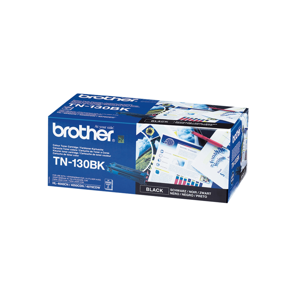 TN-130BK toner noir d'origine Brother à rendement standard