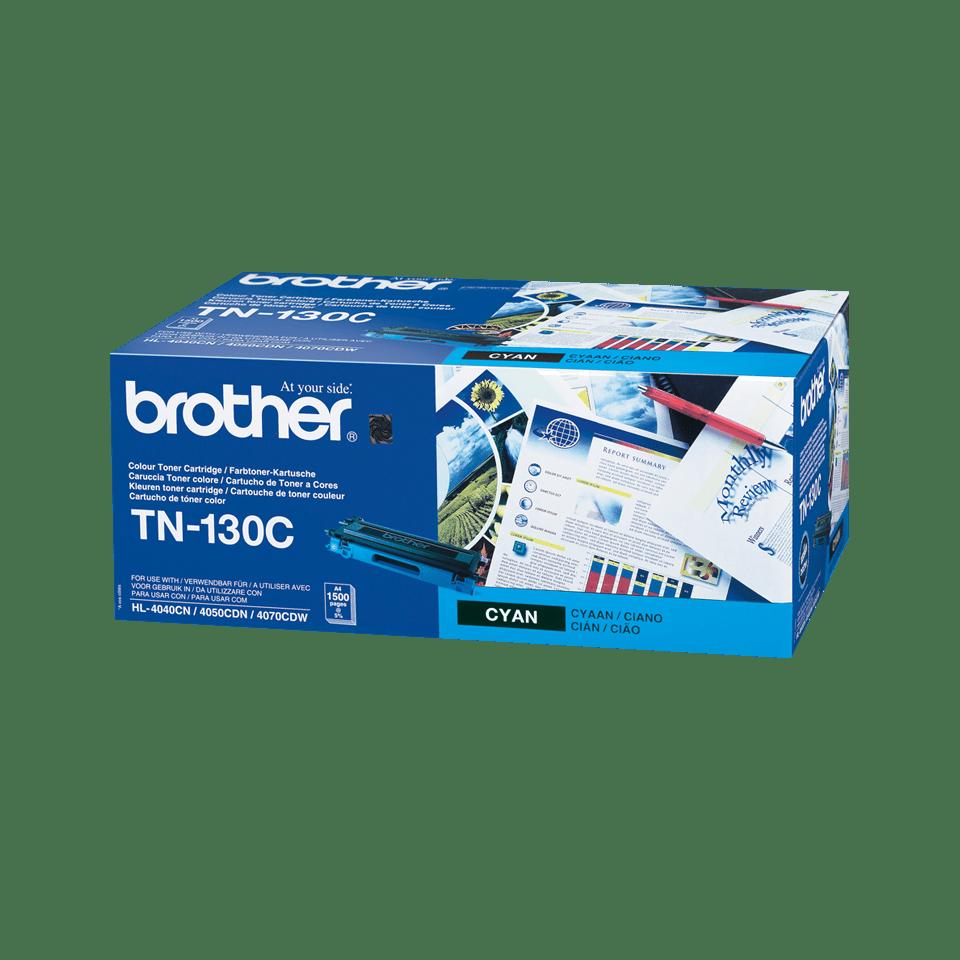 TN-130C toner cyan d'origine Brother à rendement standard