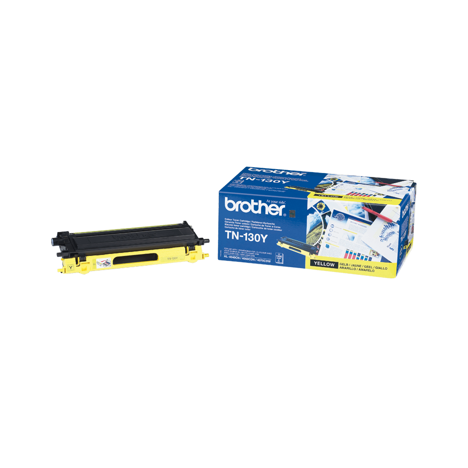 TN-130Y toner jaune d'origine Brother à rendement standard