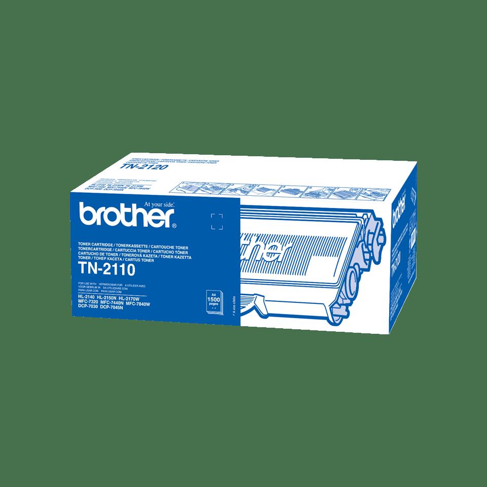 Brother TN2110 toner noir - rendement standard 2