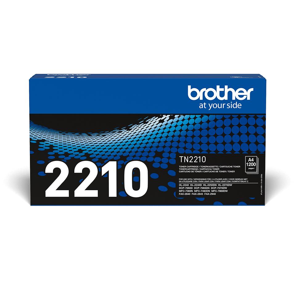 TN-2210 toner noir d'origine Brother à rendement standard 1