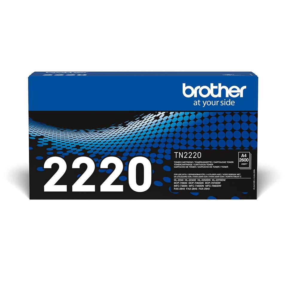 TN-2220 toner noir d'origine Brother à haut rendement 2