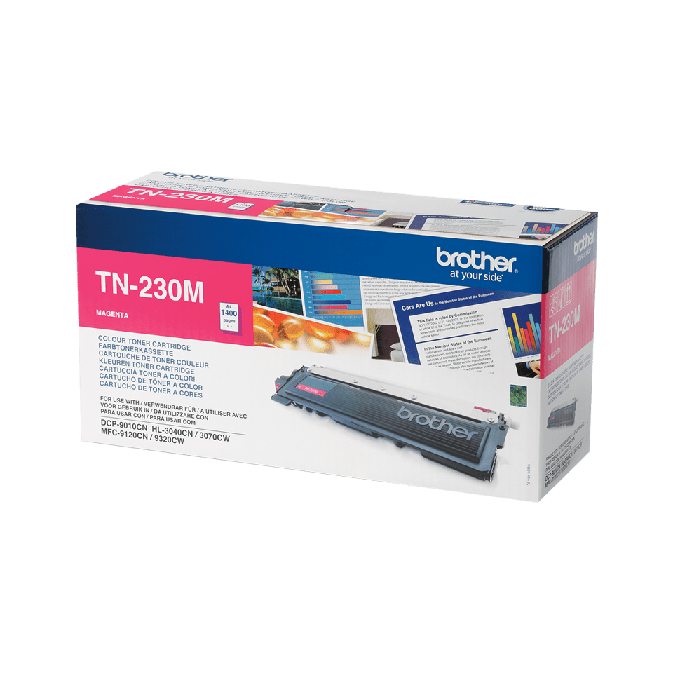 TN-230M toner magenta d'origine Brother à rendement standard 0