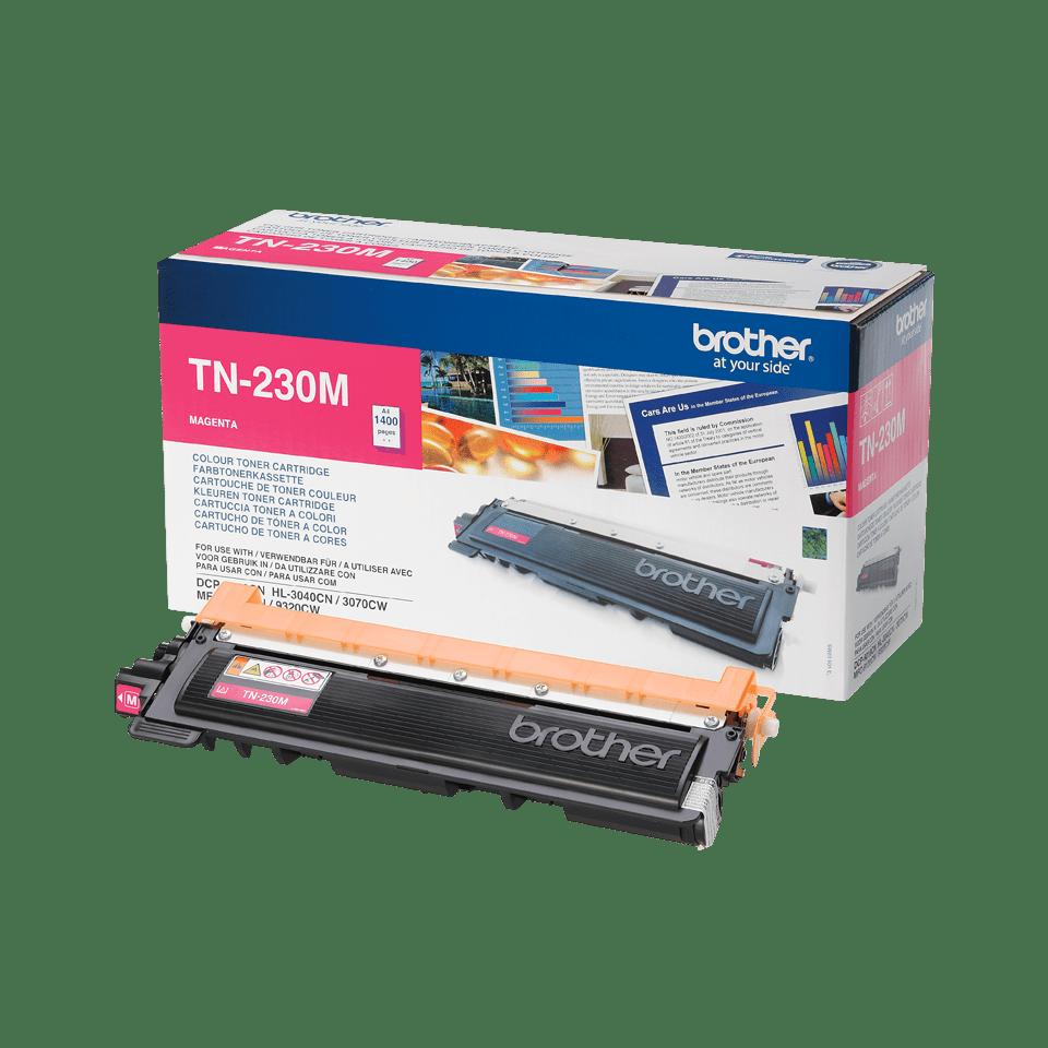 TN-230M toner magenta d'origine Brother à rendement standard 1