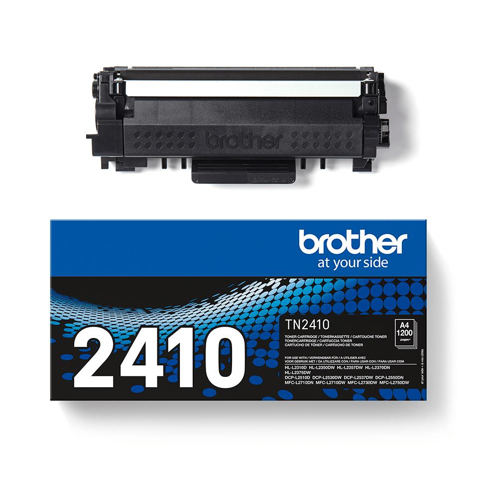TN-2410 toner noir d'origine Brother à rendement standard