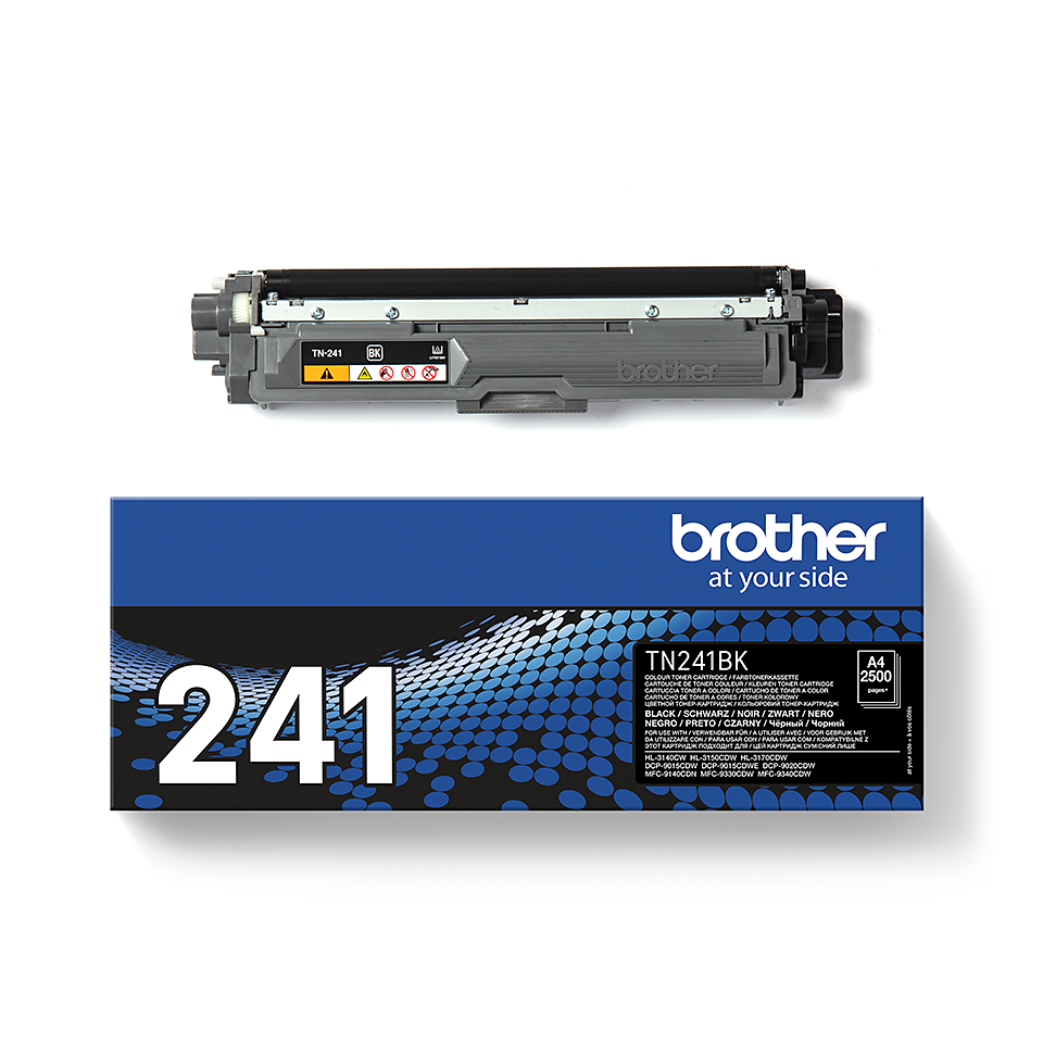 TN-241BK toner noir d'origine Brother à rendement standard 2