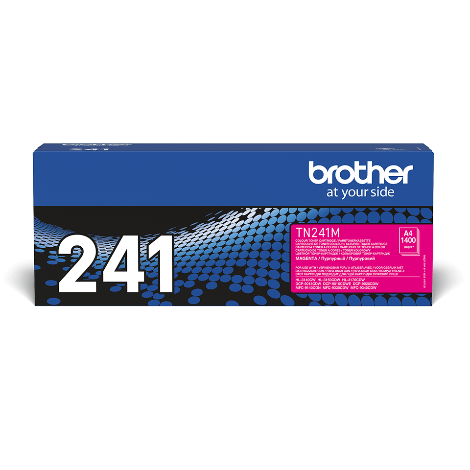 TN-241M toner magenta d'origine Brother à rendement standard