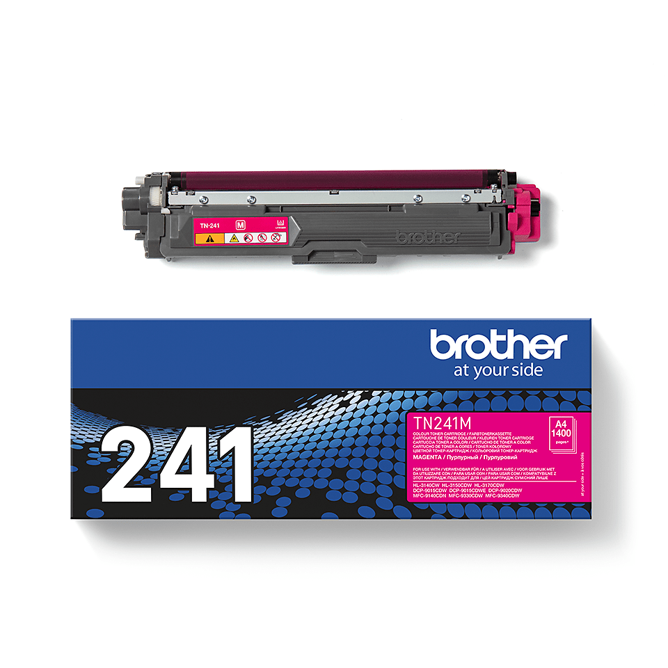 TN-241M toner magenta d'origine Brother à rendement standard 2