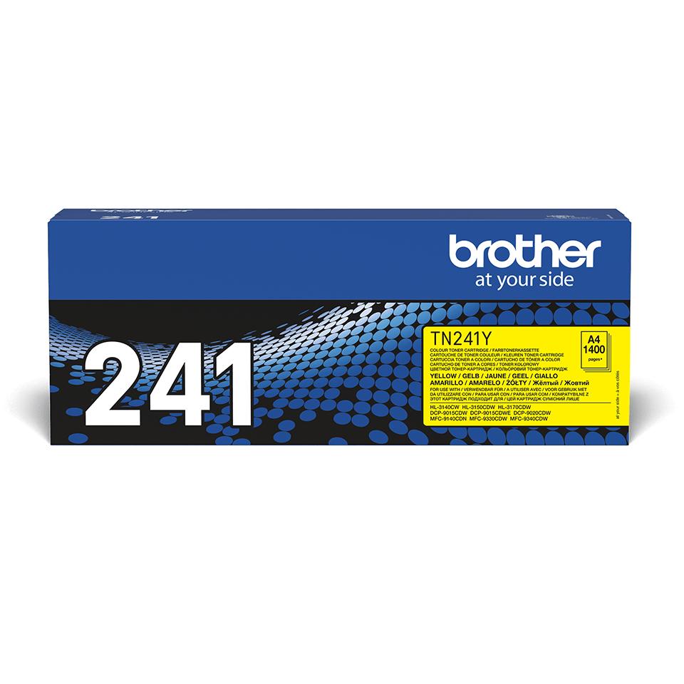 TN-241Y toner jaune d'origine Brother à rendement standard
