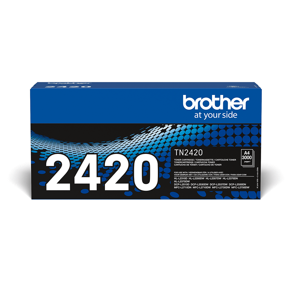 TN-2420 toner noir d'origine Brother à haut rendement