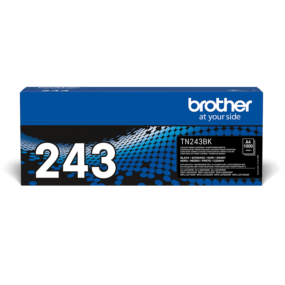 TN243BK toner noir d'origine Brother à rendement standard
