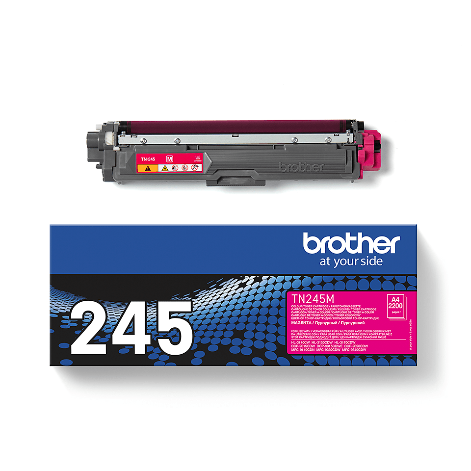 TN-245M toner magenta d'origine Brother à haut rendement 2