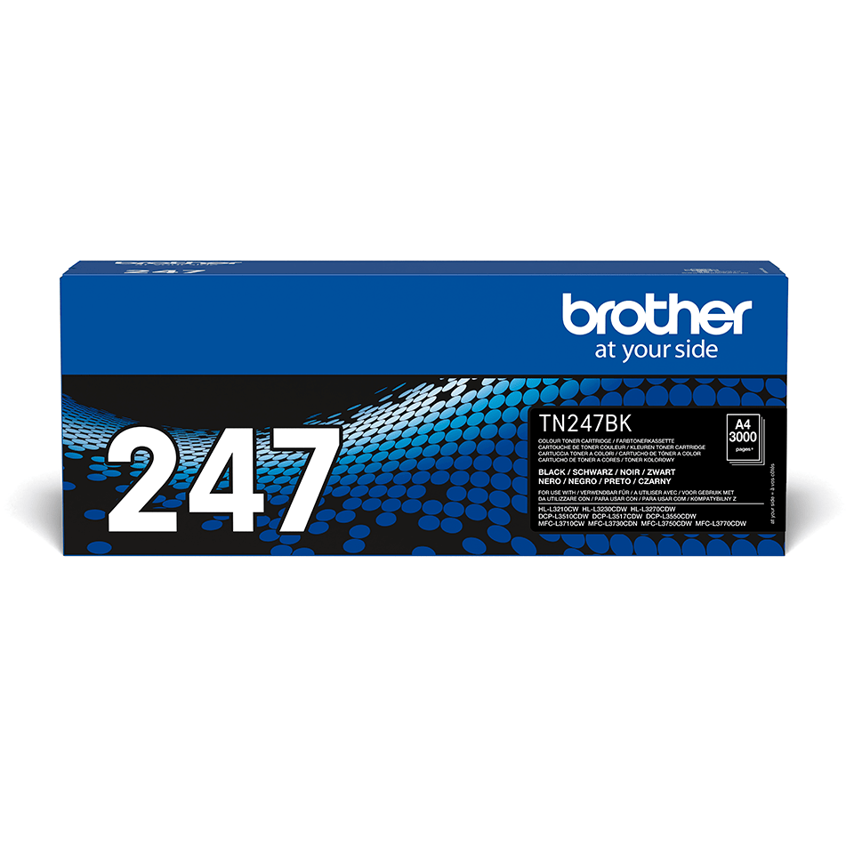TN247BK toner noir d'origine Brother à haut rendement