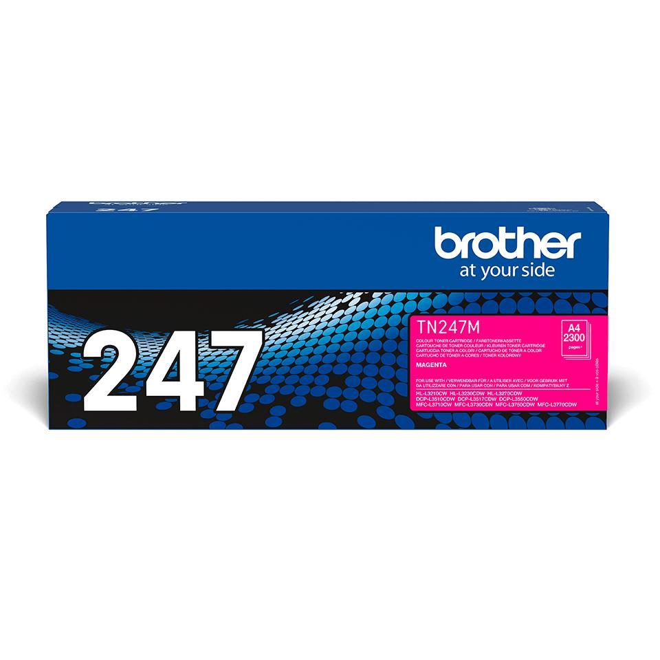 TN247M toner magenta d'origine Brother à haut rendement