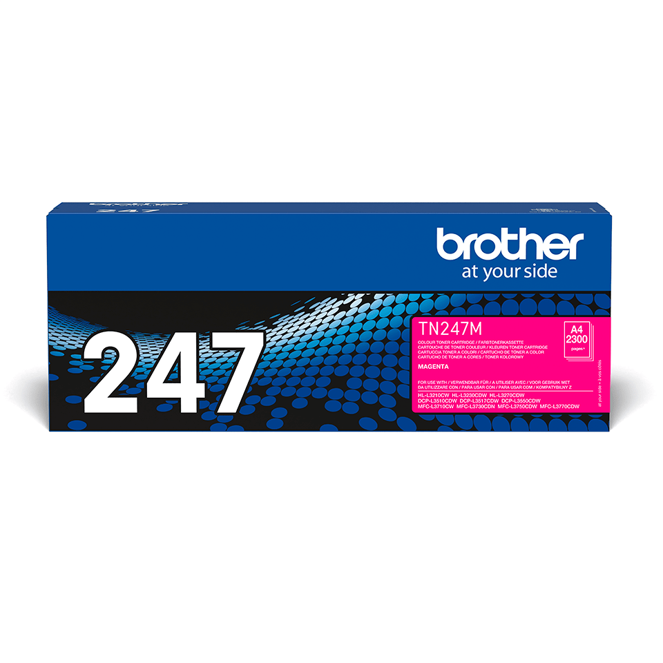 Brother TN247M toner magenta - haut rendement