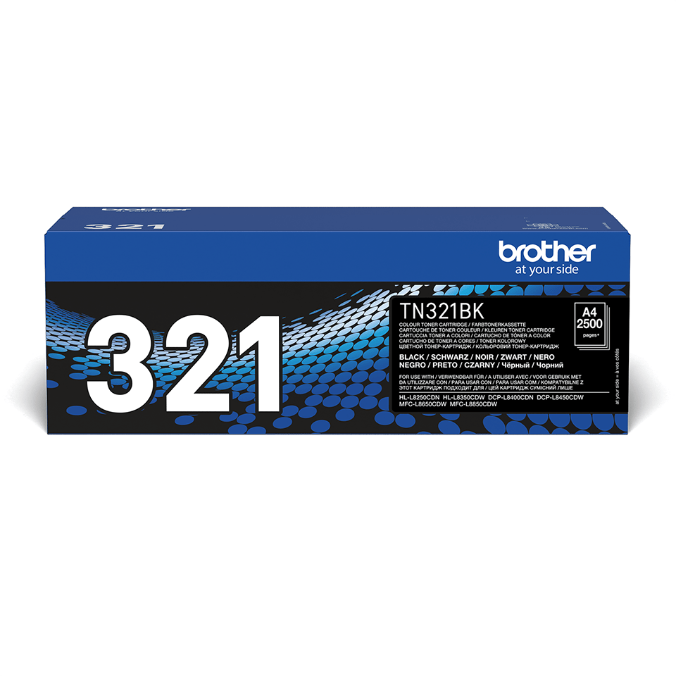 TN-321BK toner noir d'origine Brother à rendement standard