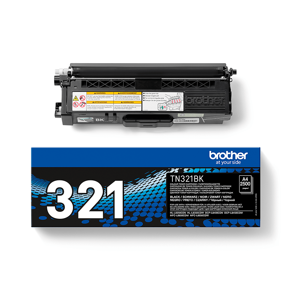 TN-321BK toner noir d'origine Brother à rendement standard 2