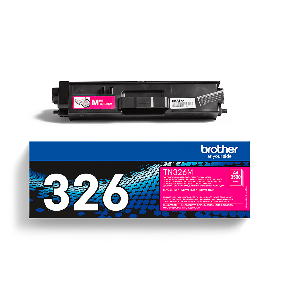 TN-326M toner magenta d'origine Brother à haut rendement 2