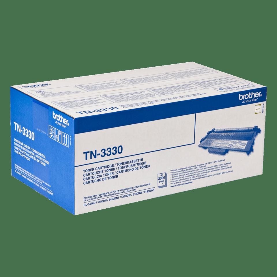 TN-3330 toner noir d'origine Brother à rendement standard 2