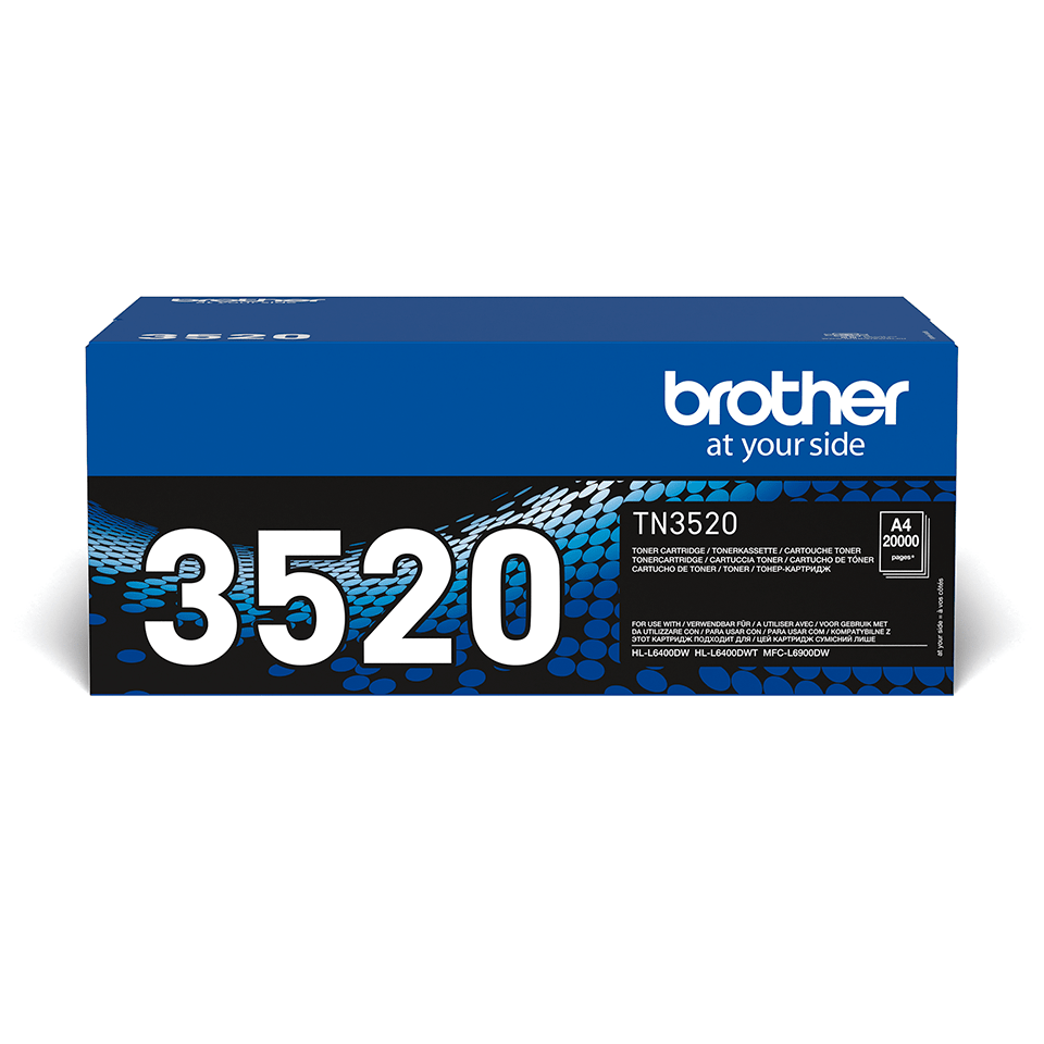 TN-3520 toner noir d'origine Brother à ultra haut rendement