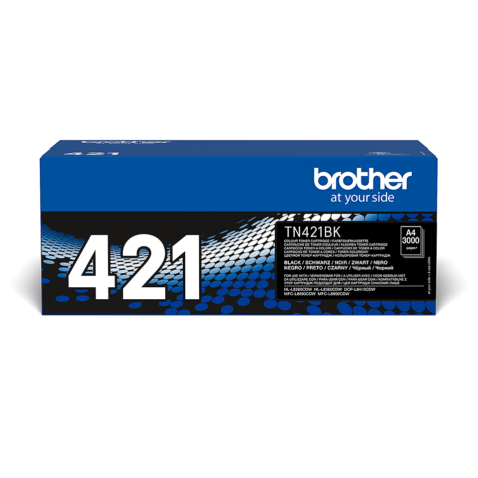 TN-421BK toner noir d'origine Brother à rendement standard